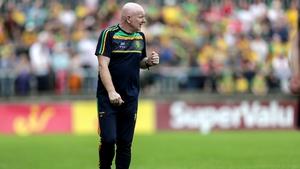 Donegal manager Declan Bonner