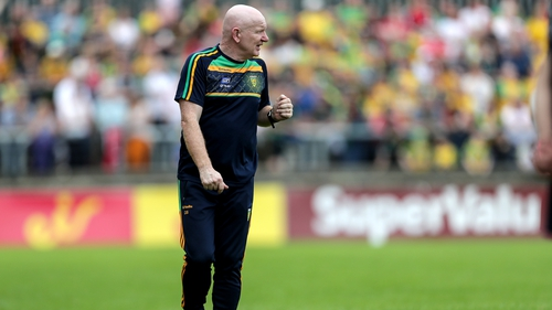Donegal manager Declan Bonner