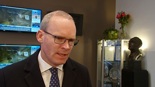 Simon Coveney said that the Brexit deal was designed around British red lines