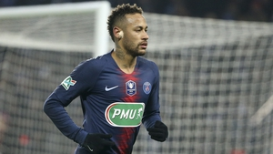 Neymar went off in injured in a Coupe de France tie last week against Strasbourg