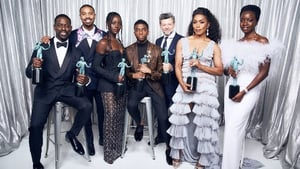 The cast of Black Panther celebrate their SAG win