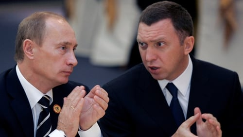 Oleg Deripaska has close ties with Russian President Vladimir Putin