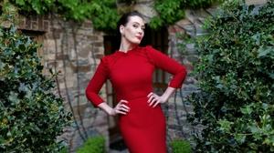 Laura Jayne Halton modeling one of her designs. Photo: Laura Jayne Halton