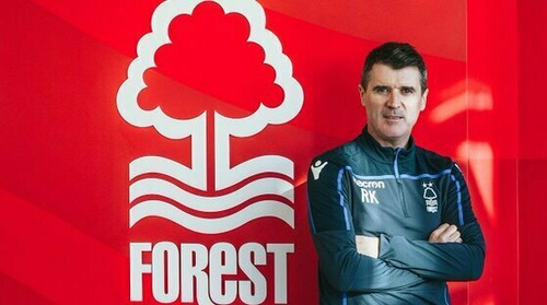 Roy Keane will reunite with Martin O'Neill. Picture credit: Nottingham Forest