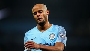 Vincent Kompany is out of contract at Manchester City at the end of the season