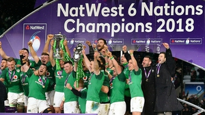 Ireland completed the Grand Slam with victory in Twickenham last year