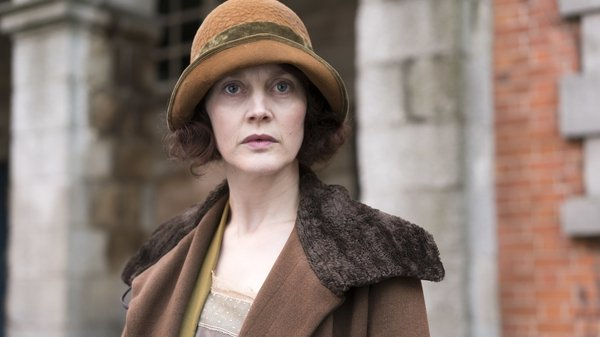 Simone Kirby as Ursula Sweeney in RTÉ drama Resistance, a character based on real-life spy Josephine McCoy