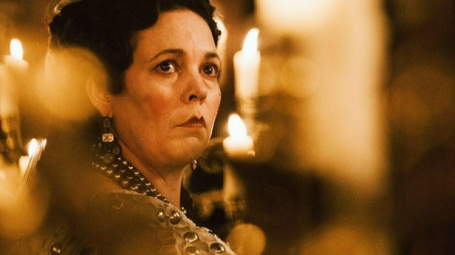 Oscar winner Olivia Colman as Queen Anne in The Favourite