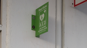 The AEDs are in use at sporting venues, schools, hotels, restaurants, offices, shopping centres around the country