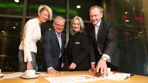 Pictured at PwC's 2019 Irish Family business survey are Liz McCarthy, Dogpatch Labs; Tom Shipsey, Stonehouse Marketing; Frances McArdle, Heigh for Hire and John Dillon, PwC Entrepreneurial & Private Business Practice