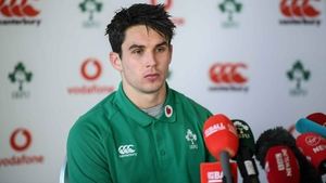 Joey Carbery spoke to the media ahead of Saturday's Six Nations opener against England