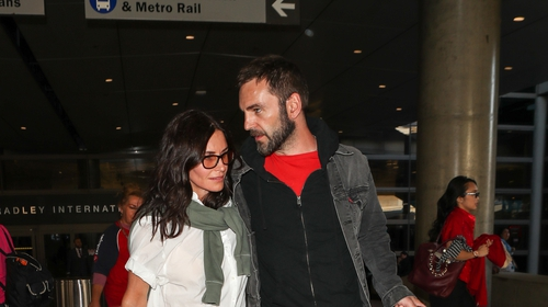 """Courteney Cox: """"We broke off our engagement and he moved to England, then we got back together, and it's actually better than it was before"""""""