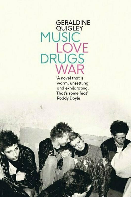 """""""Music Love Drugs War"""" by Geraldine Quigley"""