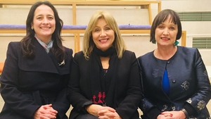 (L-R) Catherine Martin, Frances Black and Fiona O'Loughlin are behind the pilot programme