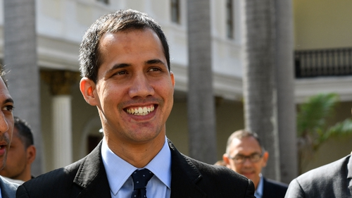 Mr Guaido proclaimed himself acting president last month