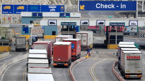 The UK logistics industry said it can't prepare for Brexit while battling to get food and medical supplies into the UK during the coronavirus pandemic