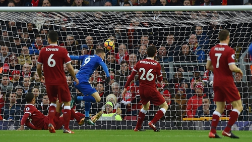 Vardy loves playing against Liverpool