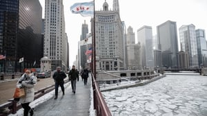 Chicago, America's third largest city, was expected to be colder than parts of Antarctica