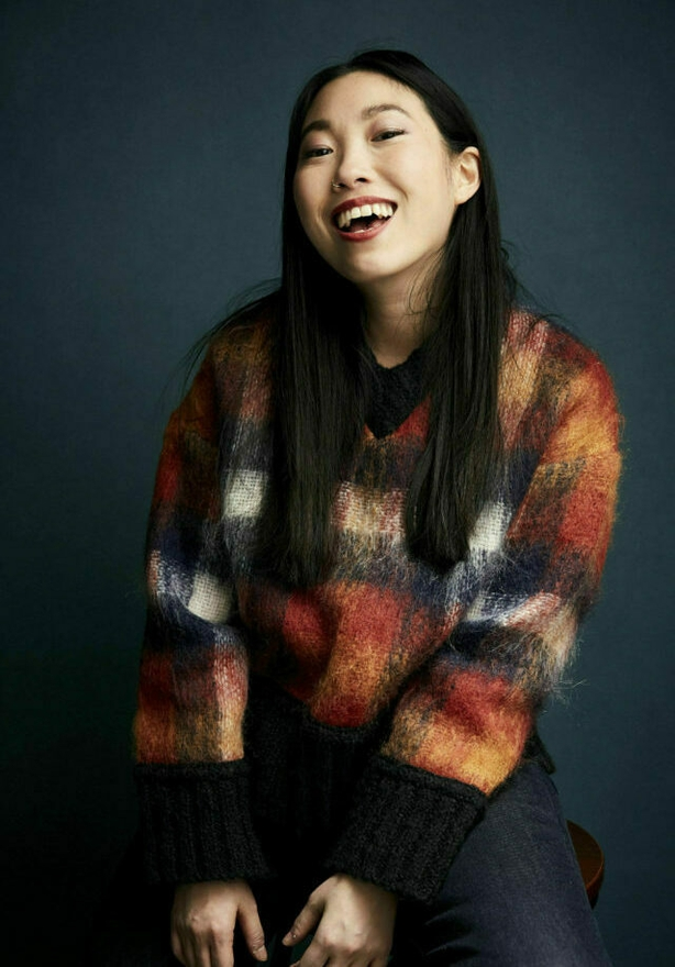 """Awkwafina poses for a portrait to promote the film """"The Farewell"""" at the Salesforce Music Lodge during the Sundance Film Festival on Friday, Jan. 25, 2019, in Park City, Utah. (Photo by Taylor Jewell/Invision/AP)"""