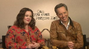 Melissa McCarthy and Richard E Grant