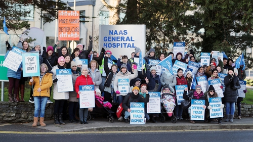 Leo Varadkar warned that position could change if the INMO strike action continues