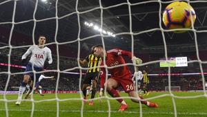 Fernando Llorente scores the winner for Spurs