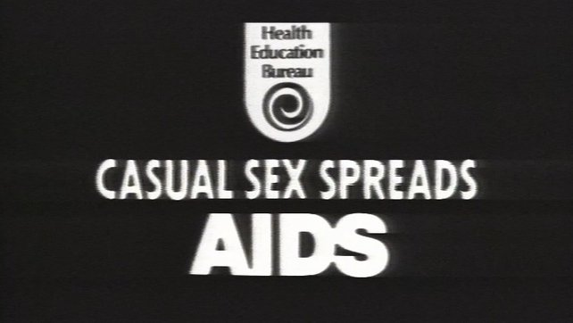 Casual Sex Spreads Aids - Health Education Bureau Advertisement