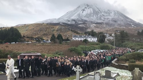 Families 'broken and bereft' after day of mourning