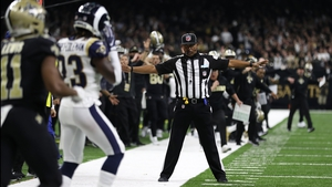 The Los Angeles Rams beat the New Orleans Saints in controversial circumstances in Louisiana