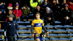 Kelly leaving the pitch following his red card in Semple Stadium last Saturday