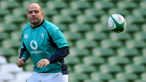 Rory Best on the captains run ahead of Ireland's clash with England
