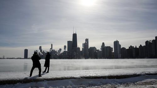 Changing air currents caused the polar vortex to slip down through Canada and into the US Midwest this week