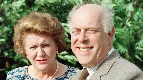 Patricia Routledge and Clive Swift - Served up TV comedy gold as Hyacinth and Richard Bucket