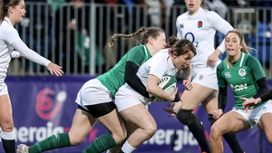 Ireland struggled to compete with England in the second half