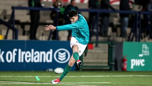 Harry Byrne is out for Ireland