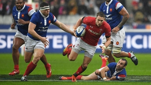 Liam Williams won't be available for Saturday's encounter with Ireland