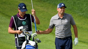 "Sergio Garcia (R) told the European Tour's website: ""I respect the decision of my disqualification."""