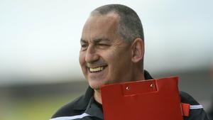 Carlow manager Turlough O'Brien