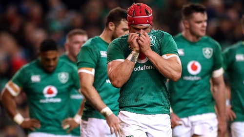 Josh van der Flier made 17 tackles as Ireland fell to defeat on the opening weekend of the 2019 Six Nations