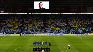 Cardiff City pay tribute to Emiliano Sala