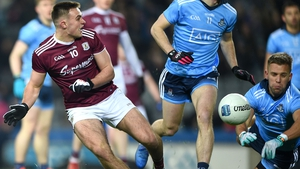 Galway started well but the Dubs take an advantage into the break