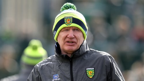 Declan Bonner said he's never had a more difficult week involved with the GAA