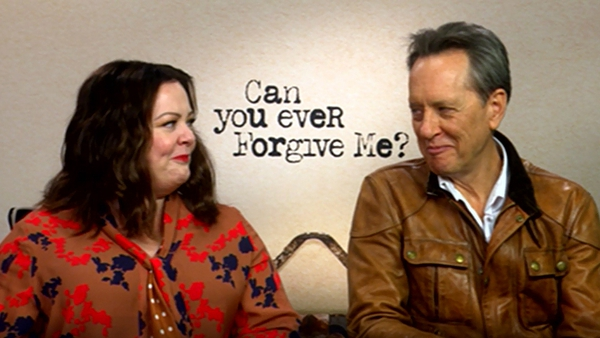 "Melissa McCarthy and Richard E Grant - ""We hit it off immediately"""
