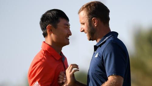 Johnson (R) held off the challenge of Li Haotong