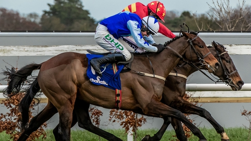 Ruby Walsh and Klassical Dream came out on top of dramatic finish