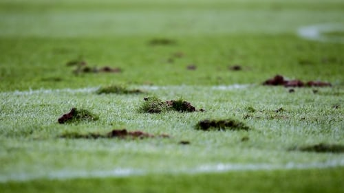 Páirc Uí Chaoimh was left with major divots and holes after Cork v Wexford