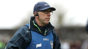 Clare joint-manager Gerry O'Connor at Ennis today.
