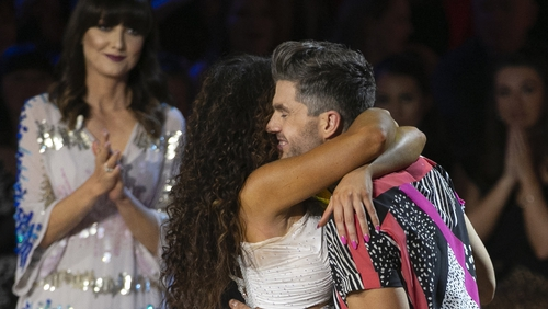 Darren Kennedy and reigning DWTS champion Karen Byrne had earned 18 points from the judges on Sunday night for their Salsa, but they did not receive enough votes from the public to stay in the RTÉ One competition