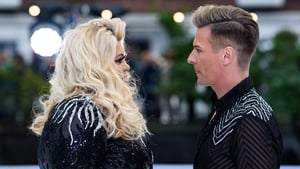 Gemma Collins and professional partner Matt Evers - Ice rink rollercoaster ride continues
