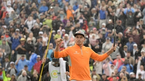 Rickie Fowler lost a five-shot advantage but managed to get back his lead